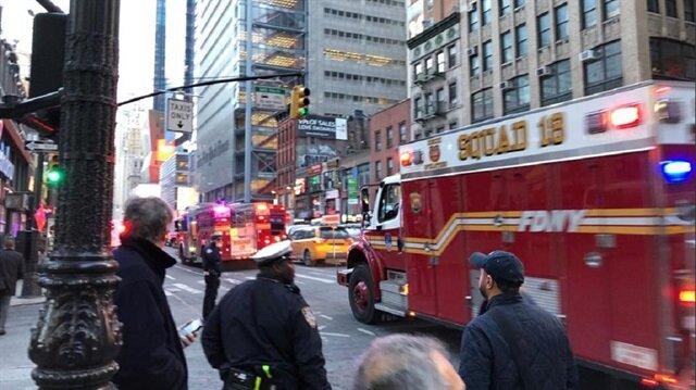 Explosion rocks New York commuter hub, one suspect in custody