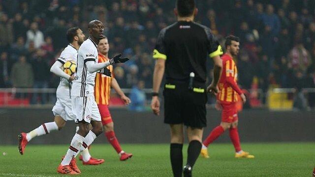 Kayserispor hold Beşiktaş to 1-1 draw