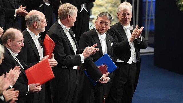 2017 Nobel Laureates presented with awards
