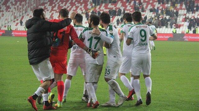 Sivas Belediyespor-Galatasaray: 2-1