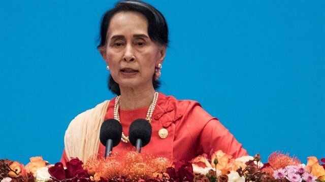 Dublin councillors revoke Suu Kyi award in protest
