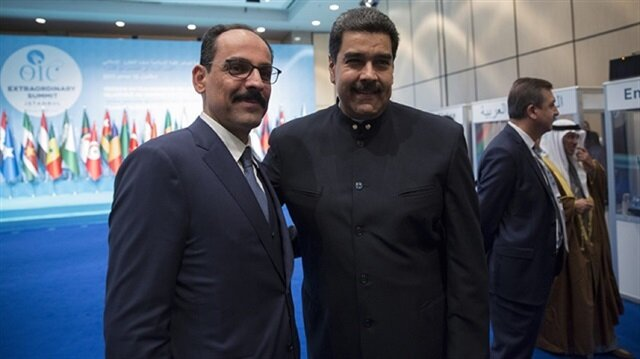 Venezuela's Maduro attends OIC summit in Istanbul