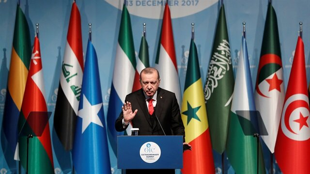 Jerusalem's fate cannot be left to a country that thrives on blood: Erdoğan