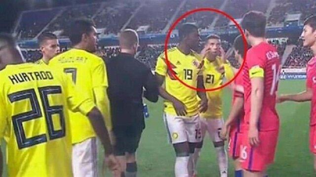 Kolombiyalı futbolcuya ırkçılık cezası: Dünya Kupası'nda yok