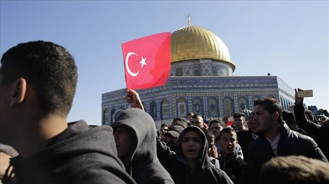 Turkish government asked to open embassy in E. Jerusalem