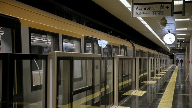 Turkey's first driverless metro train to open on Friday
