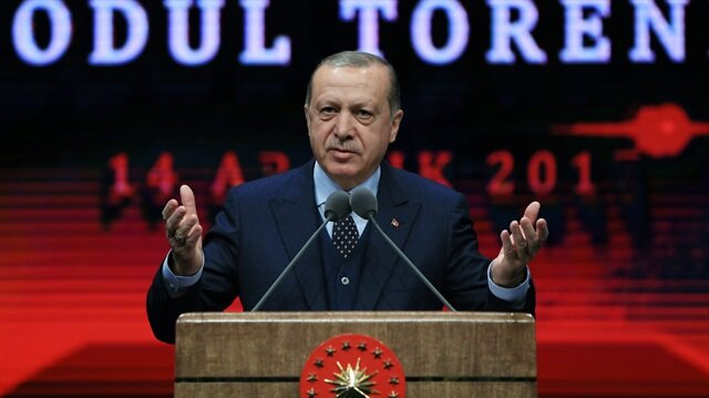 Erdoğan says terror, coups or economic obstacles cannot prevent Turkey's growth