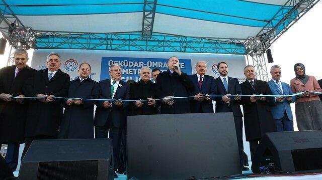 Erdoğan, Yıldırım inaugurate Turkey's first driverless metro train