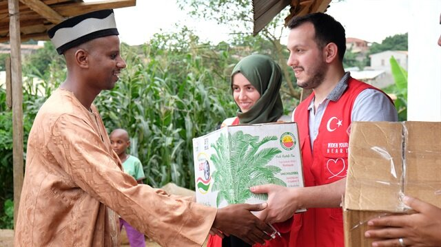 Turkey supports 170 countries with development aid