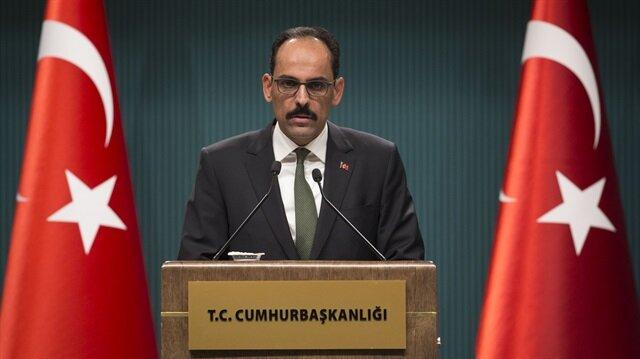 Israeli occupation must end: Turkish presidential aide