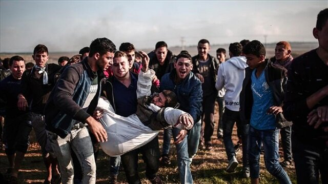 Four Palestinians martyred, scores hurt in Friday clashes