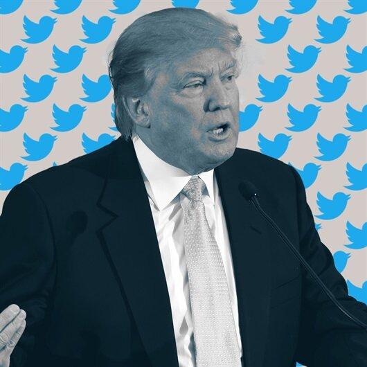 ABD Başkanı Trump Twitter'da vakit öldürüyor