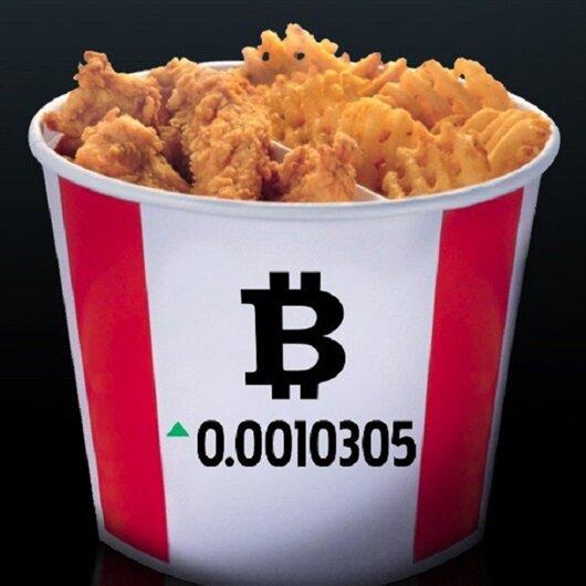 Fast food zinciri Bitcoin'le tavuk satacak