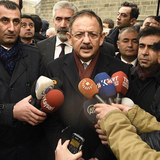 Bakan'dan Diyarbakır'a binlerce konut müjdesi