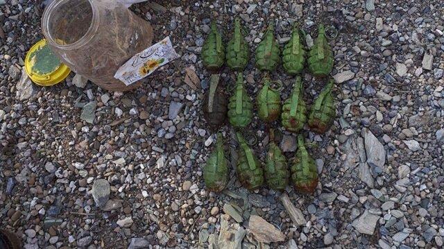 Hatay'da yol kenarında el bombası bulundu