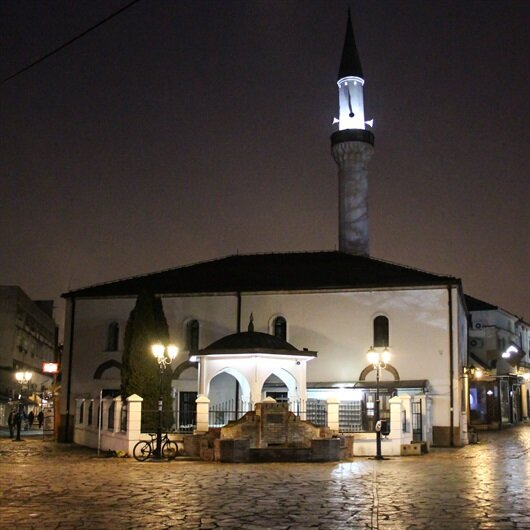 Makedonya'da Mehmetçik için eller semaya açıldı