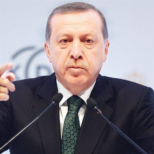 Erdoğan'dan 'Kızıl Elma' açıklaması