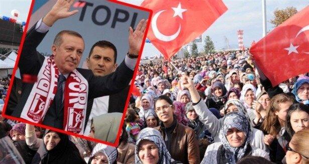 Erdoğan'a karşılama sürprizi!