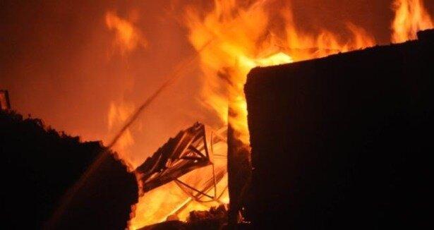 Gaziantep'te yangın: 1 ölü
