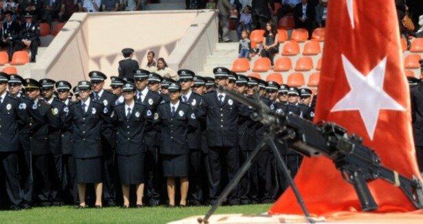 Polislikte ''boy'' kısaldı