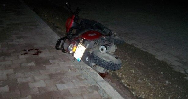 Adıyaman'da motosiklet kazası