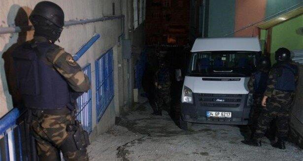 İstanbul'da helikopterli narkotik baskını