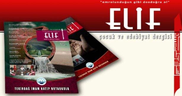 Bir Okul Dergisi; Elif Çocuk çıktı