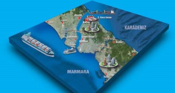 İşte Kanal İstanbul rotası
