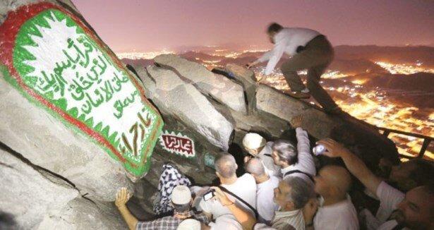 Nur Dağı''nda gözyaşları sel oldu