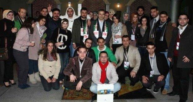 Türkiye'de bulunan Filistinli gençler sevinç yaşad