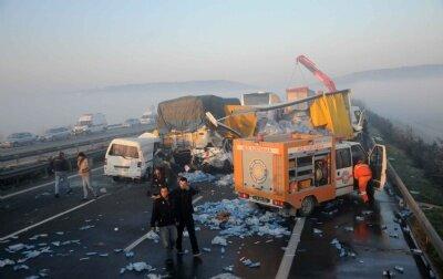 Bursa-İzmir yolunda dehşet veren kaza