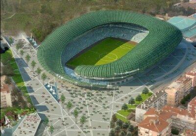 Bursaspor'un yeni stadı 2011'de hazır!