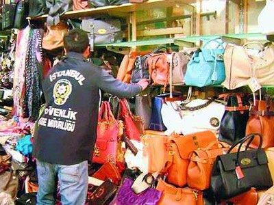 Çakma çanta piyasası markaları vuruyor