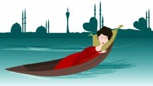 Eftelya'm, denizin nazlı kızı