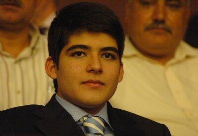 Abdullah Gül'ün oğlu rekor kırdı