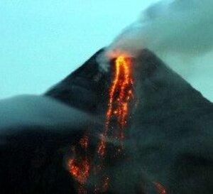 Yemen'de yanardağ patlaması