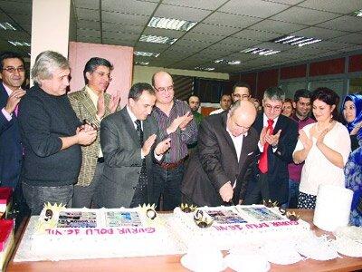 Yeni Şafak ailesi 16. yılını kutladı