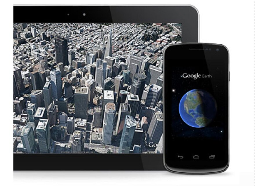 Earth Google Android