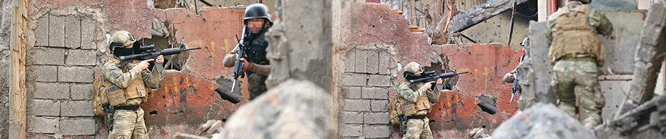 Cizre'de PKK'ya en ağırdarbe: 30 terörist öldürüldü