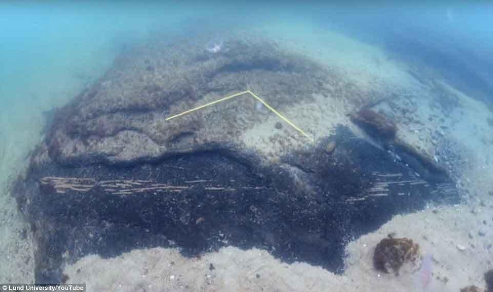 İsveç'te esrarengiz su altı kalıntıları bulundu: 9 bin yıllık