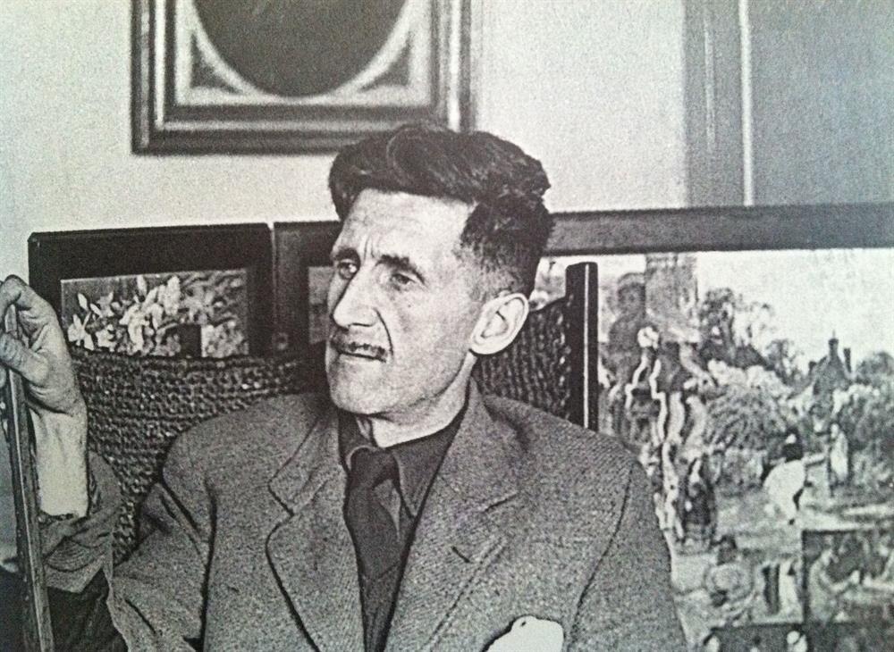 Картинки по запросу george orwell young