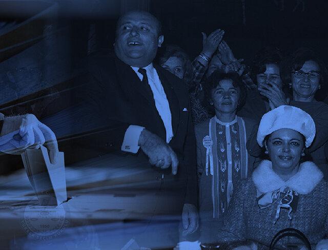 Sahne Demirel'in: 1965 genel seçimleri