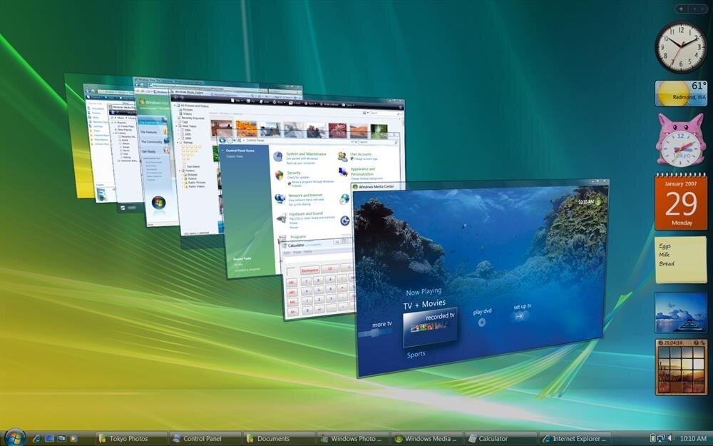 Microsoft düğmeye bastı: Windows Vista tarih oluyor