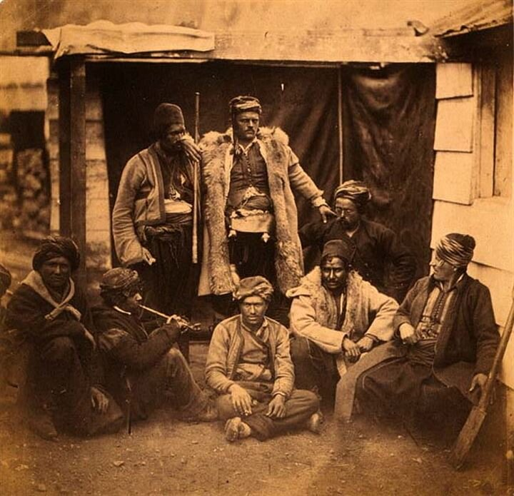 İlk savaş fotoğraflarında Osmanlı