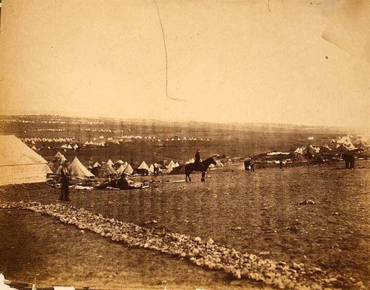 Fenton'ın çektiği 360 kare arasında Osmanlı Ordusu fotoğrafları vardı.