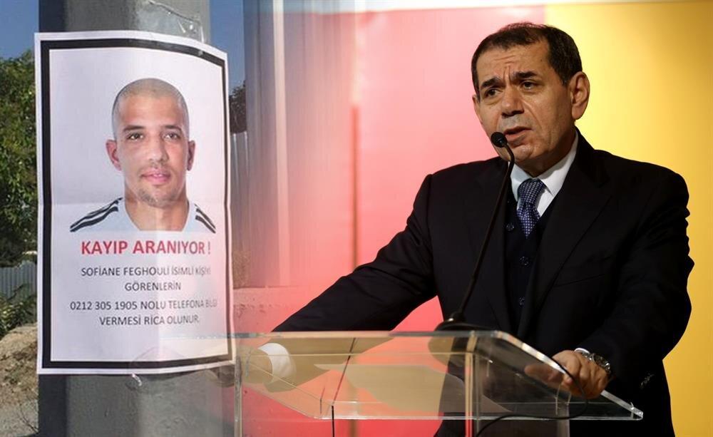Sabır taştı: Feghouli için kayıp ilanı verildi!