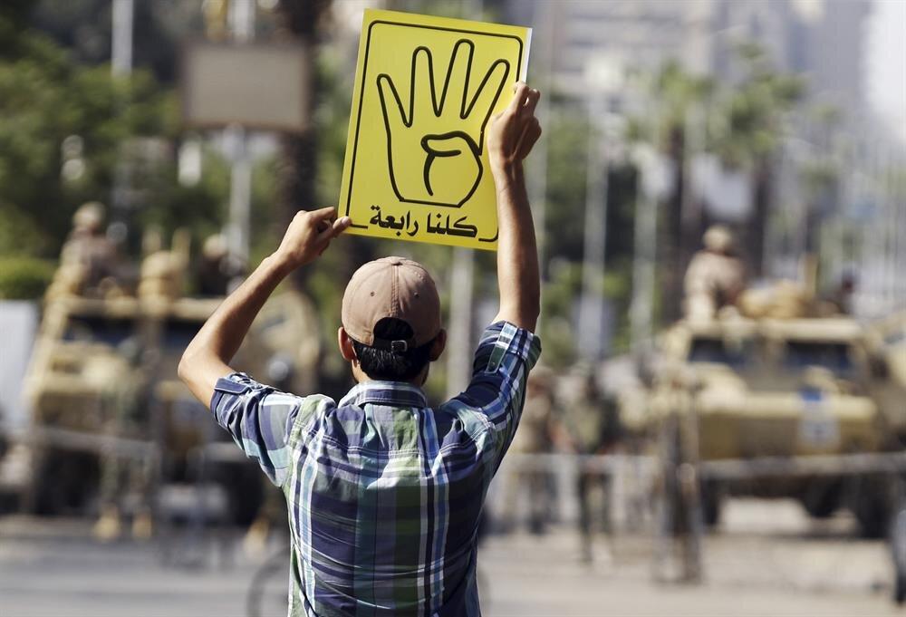 14 Ağustos 2013'te Rabia Meydanı'nda binlerce kişi katledildi.