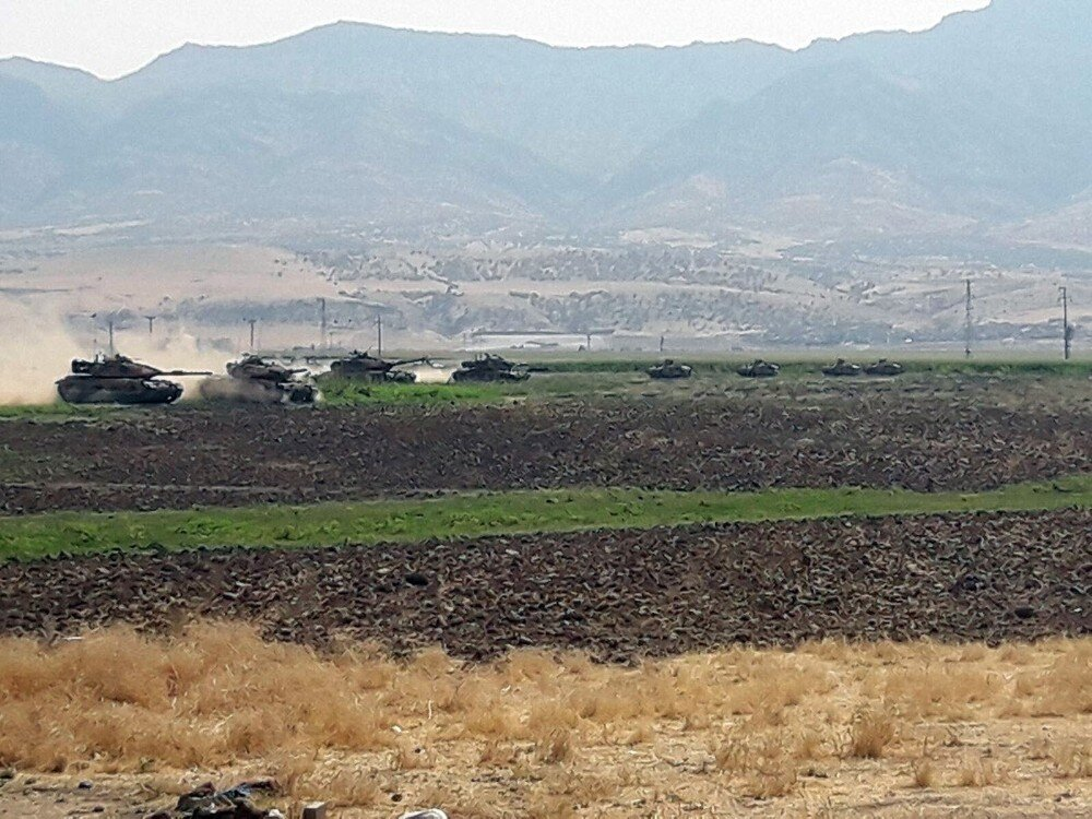 Turkish military drills on Iraqi border continue