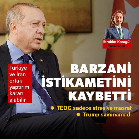 Barzani <br>istikametini kaybetti
