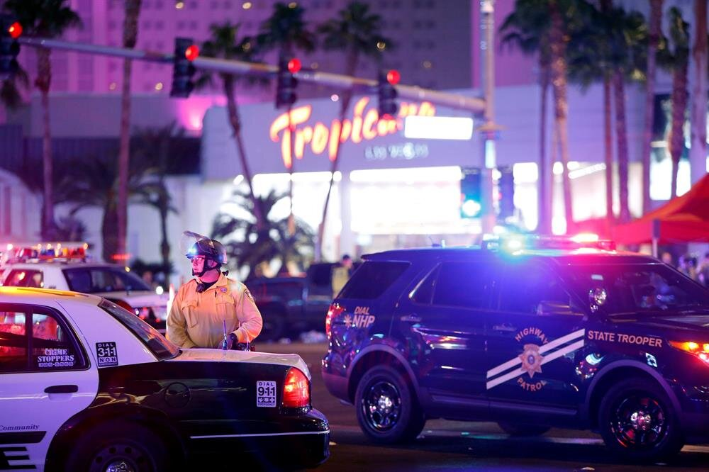Shooting at music festival in Las Vegas